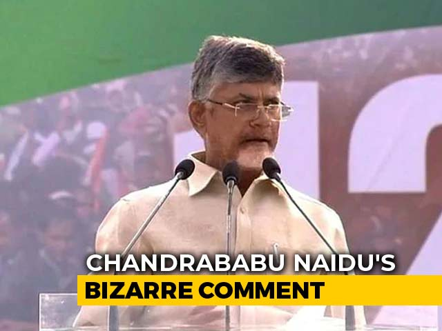 "Video : ""Have More Than 2 Kids,"" Chandrababu Naidu's Bizarre Advice For Andhra"