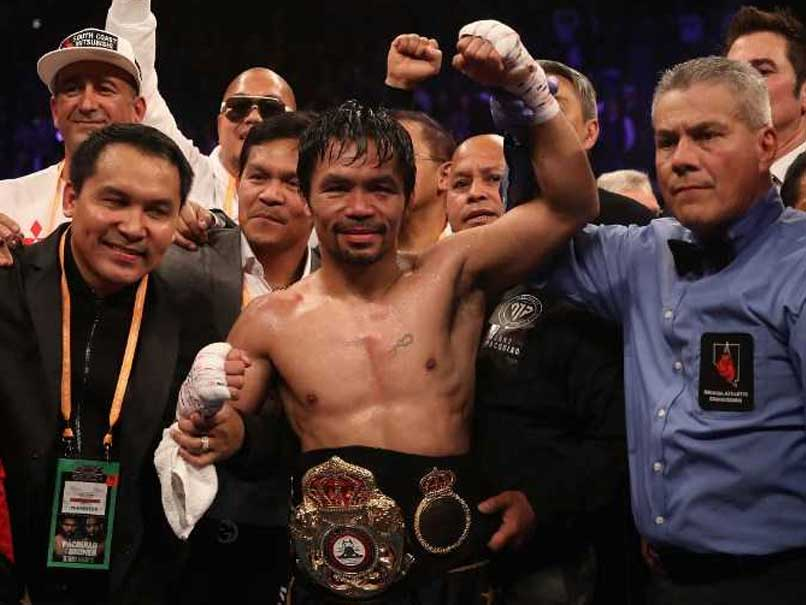Manny Pacquiao Batters Adrien Broner In Lopsided Welterweight Bout