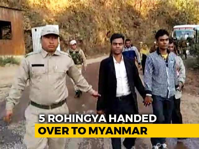 Video : Five More Rohingya Migrants Deported To Myanmar, 10 Still In Prison