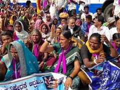 Demanding Alcohol Ban, Thousands Of Women March In Karnataka