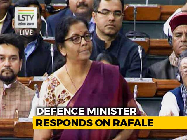"Video : ""We Deal In Defence, No Defence-Dealing"": Nirmala Sitharaman's Rafale Jab"