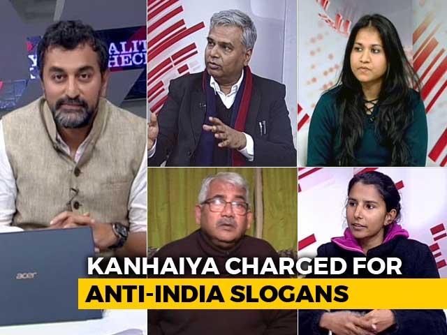 Video : Sedition Case Against Kanhaiya Kumar: A Reality Check