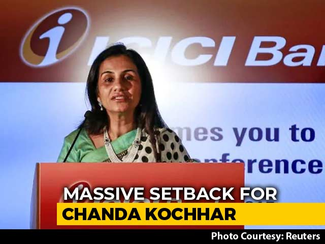 Video : Chanda Kochhar Sacked By ICICI For Violating Code, Has To Return Bonuses