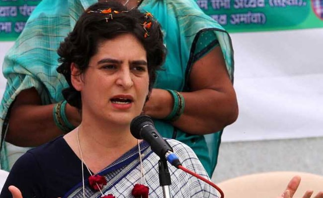 BJP Leader's Offensive 'Skirt' Remark On Priyanka Gandhi Vadra