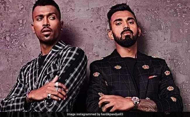 महिला विरोधी टिप्पणी के लिए क्रिकेटर हार्दिक पंड्या और केएल राहुल निलंबित..