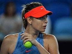 Early To Bed For Sleepy Maria Sharapova