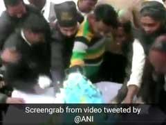 Cake Loot, Dancers At Events To Celebrate Mayawati's Birthday