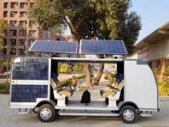 Students Design Driverless Bus That Runs on Solar Power, Costs Rs. 15 Lakh