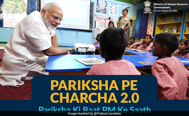 Pariksha Pe Charcha 2.0: PM Modi To Interact With Students Ahead Of Board Exams