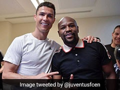 """Champions Celebrating With A Champion"": Cristiano Ronaldo Celebrates Italian Super Cup Victory With Floyd Mayweather"