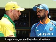 India Vs Australia Highlights 1st Odi Australia Beat India By 34