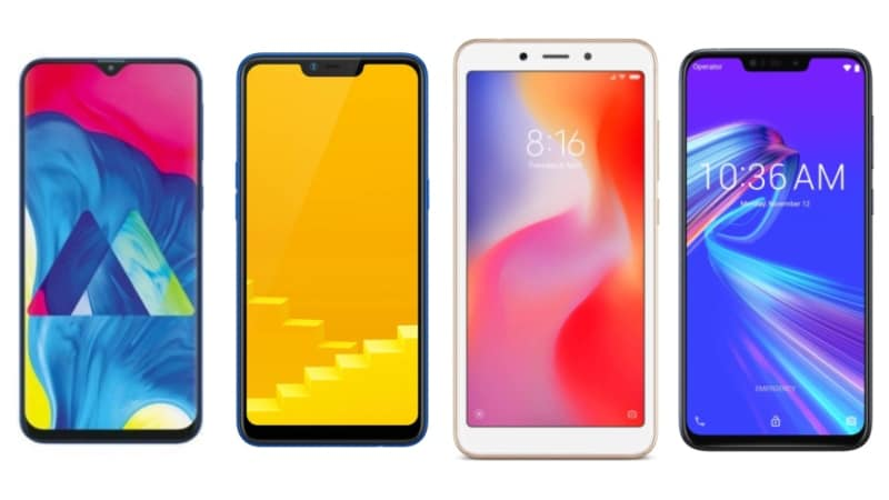 Samsung Galaxy M10, Realme C1 (2019), Asus ZenFone Max M2 और Xiaomi Redmi 6 में कौन बेहतर?