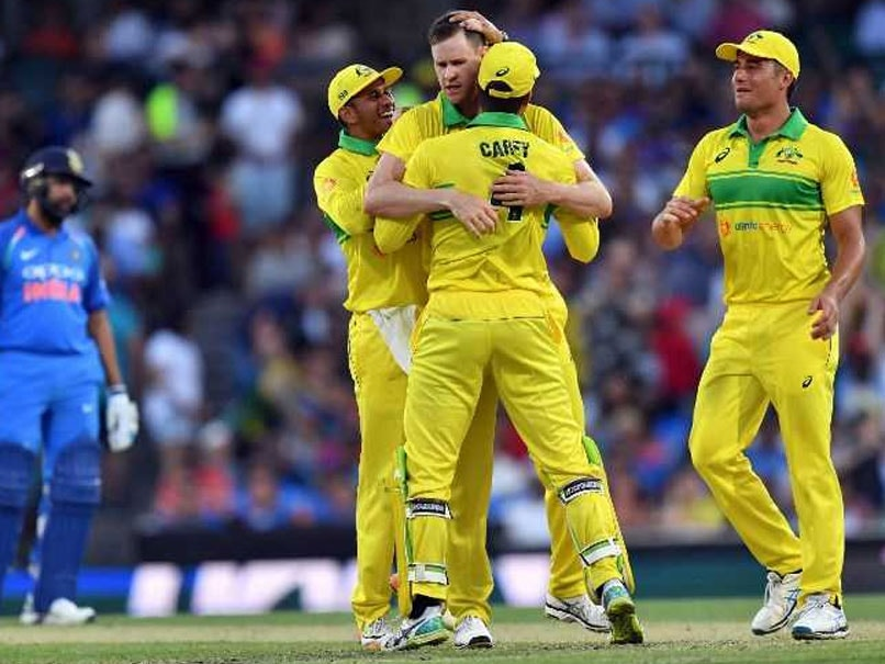Cricket Scoreboard, India vs Australia 1st ODI Highlights: Usman Khawaja, Shaun Marsh Steady Australia After Openers Depart