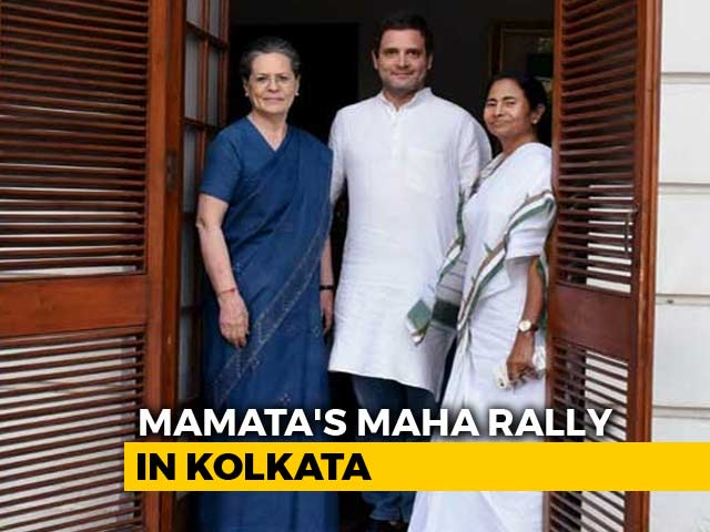 "Video : Rahul Gandhi Writes To ""Mamata-Di"", Says ""Hope We Send Powerful Message"""