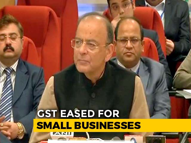 Video : Tax Exemption Limit Doubled For Small Businesses: Arun Jaitley