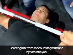 सलमान खान ने जिम में की हैरान कर देने वाली कसरत, बोले- 'रोज करते हो तो करो, मगर...'- देखें Video