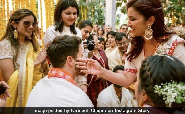 This Pic Of Parineeti From Priyanka Chopra And Nick Jonas Haldi