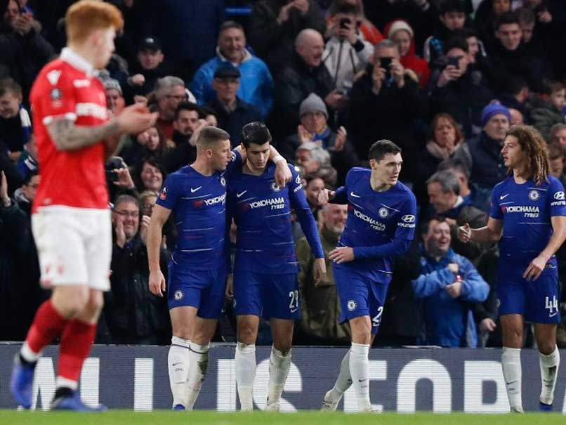 FA Cup: Morata Hits Double For Chelsea, Gillingham Knock Out Cardiff