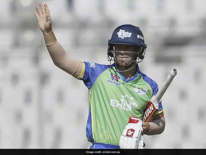 David Warner Set To Return Home From Bangladesh Premier League After Suffering Elbow Injury