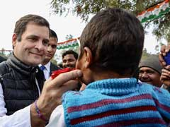 """Go Back To Italy"": Farmers Protest As Rahul Gandhi Visits Amethi"