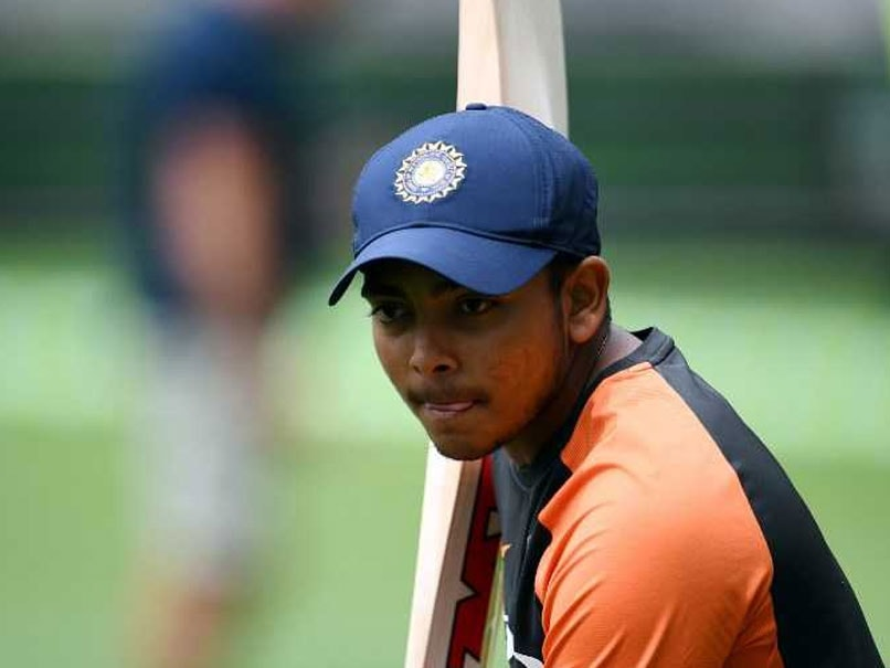 Prithvi Shaw Gives Update On Fitness, Expects To Return In IPL 2019
