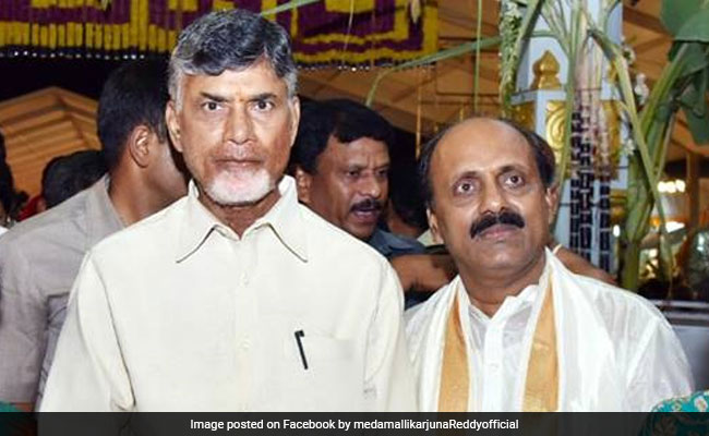 TDP's Mallikarjuna Reddy Suspended Amid Reports Of Joining YSR Congress