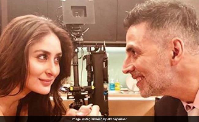 Akshay Kumar, Kareena Kapoor Use #10YearChallenge To Announce They've Started Filming Good News