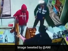 Cellphone In Hand, Punjab Woman Chases Armed Robbers Out Of Her Shop. Watch