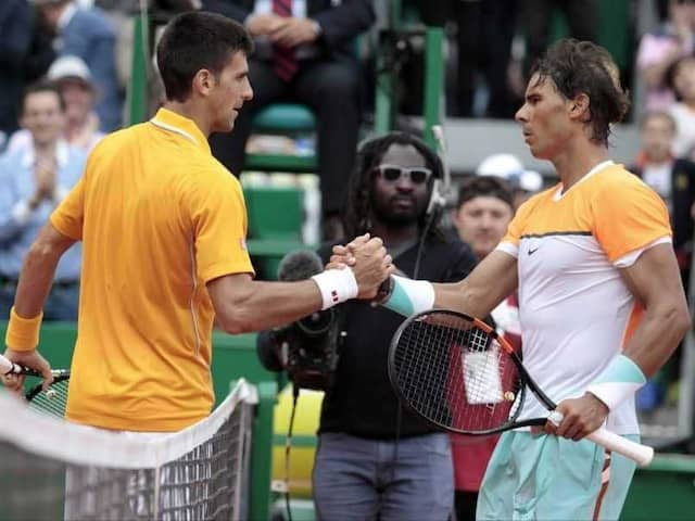 """Matches You Live For"": Greatest Rivals Novak Djokovic, Rafael Nadal Square Off"
