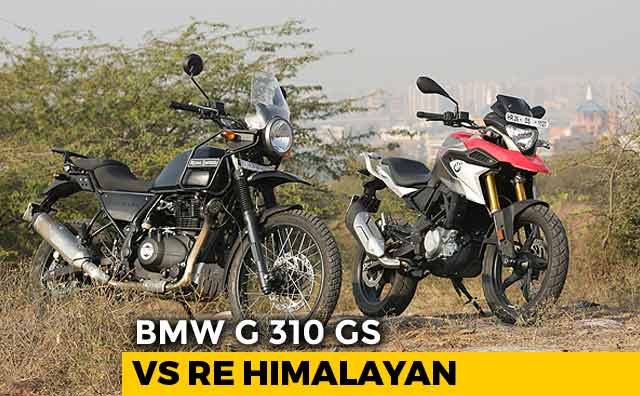 BMW G 310 GS vs Royal Enfield Himalayan ABS