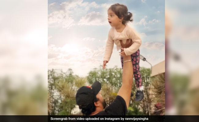 Rannvijay Singha's Post For Daughter Kainaat Is Too Cute To Be Missed