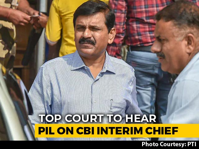 Video : Supreme Court To Hear Petition Against Nageswara Rao As CBI Interim Chief