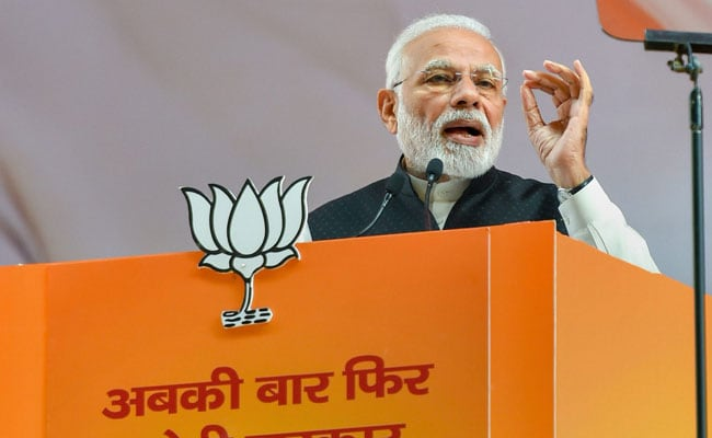 Asking For 'Extra Time' At BJP Meet, PM Talks Of A 'Failed Experiment'