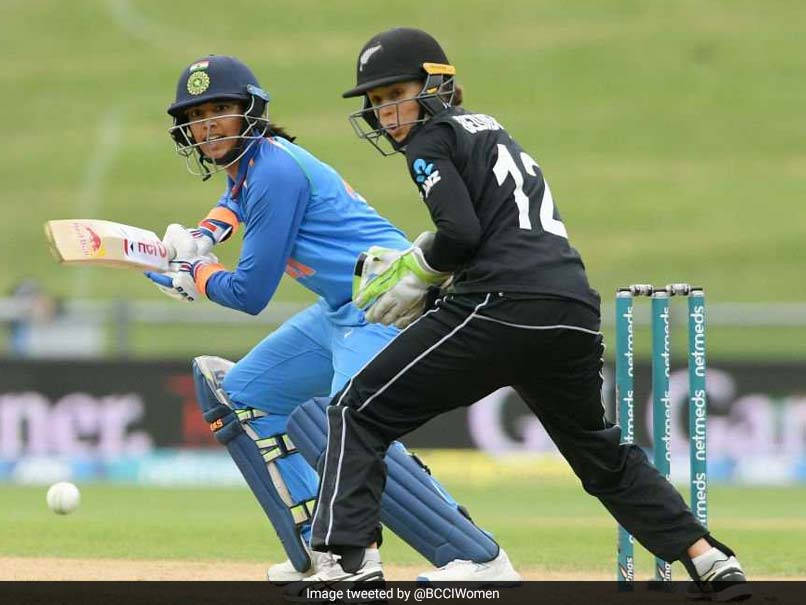 Mandhana Cracks Century As Indian Women Thrash New Zealand In 1st ODI