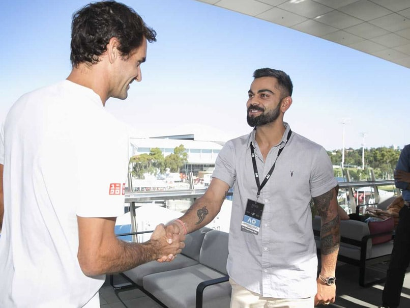 Virat Kohli Reveals What He Discussed With Roger Federer At Australian Open