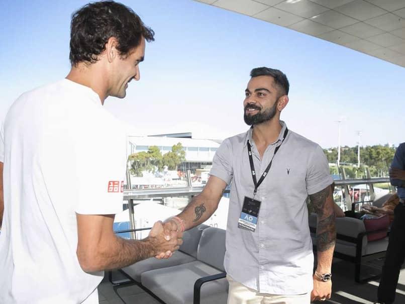 Virat Kohli Reveals What He Discussed With Roger Federer At Australian Open