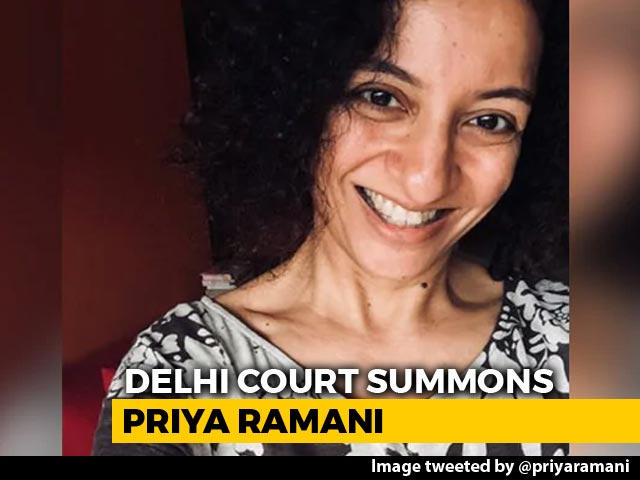 "Video : ""Time To Tell Our Story"": Priya Ramani On Summons In MJ Akbar Case"