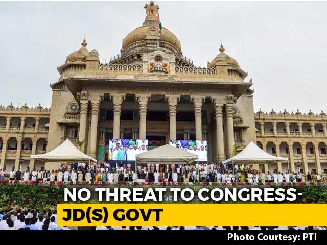 "Video : Case Of 'Missing' Karnataka Lawmakers Revives Congress's ""Op Lotus"" Fear"