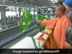 Aqua Metro Line Inauguration: CM योगी आदित्यनाथ ने नोएडा-ग्रेटर नोएडा के बीच मेट्रो को दिखाई हरी झंडी