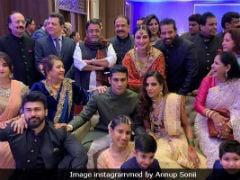 Details From Prateik Babbar And Sanya Sagar's Wedding Festivities: Raj Babbar's Dance To Upcoming Party