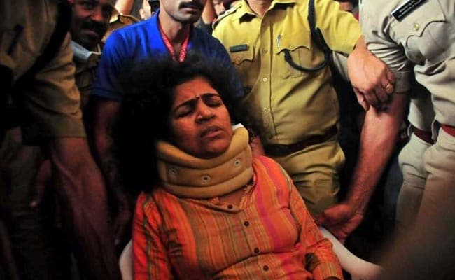 Woman Thrown Out Of Home For Sabarimala Entry Returns After Court Order