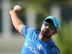 Ravichandran Ashwin Undergoes Solo Training Session On Team India