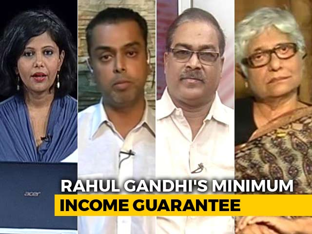Video : How Will Rahul Gandhi's Minimum Income Guarantee Impact 2019 Polls?