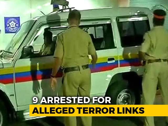 Video : Nine Including 17-Year-Old Arrested In Maharashtra For Alleged ISIS Links