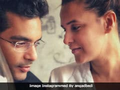 Neha Dhupia And Angad Bedi In One Of Their 'Very First Pics' Is <i>Love, Actually</i>