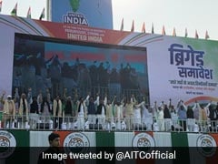 "At Mega Rally, Opposition Says Unite Against ""Politics Of Hate"": 10 Facts"