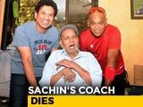 Video : Sachin Tendulkar's Coach Ramakant Achrekar Dies In Mumbai