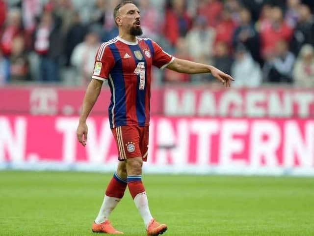 "Bayern Munich Hand Franck Ribery ""Heavy Fine"" For Tweetstorm"