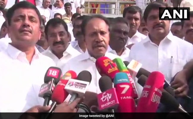 'Joke To Say We'll Carry BJP On Our Back': AIADMK Leader On Alliance