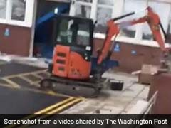 Construction Worker Destroys Hotel Lobby In Viral Video. The Reason...